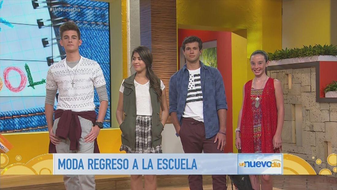 Rashel Díaz y Christian Ramírez te traen lo último en la moda para adolescentes (VIDEO)