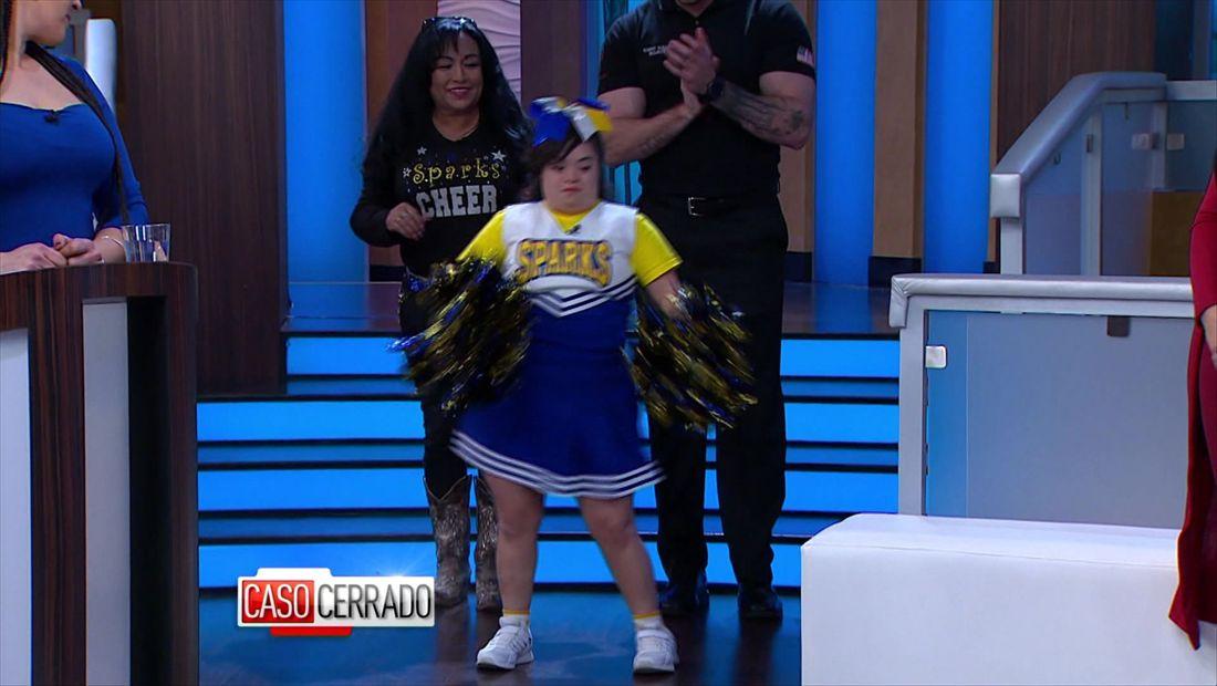 Pequeña Cheerleader