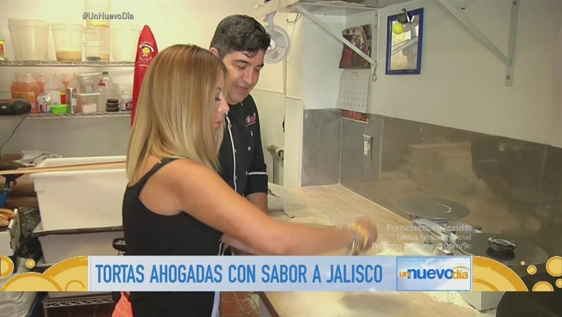 Chiquibaby te tre el lugar donde preparan las auténticas tortas ahogadas (VIDEO)