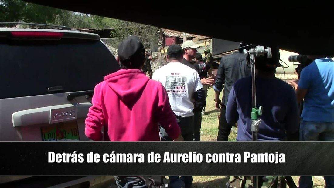 Detrás de cámaras de la balacera entre Aurelio y Pantoja en El Señor de los Cielos 3 (VIDEO)