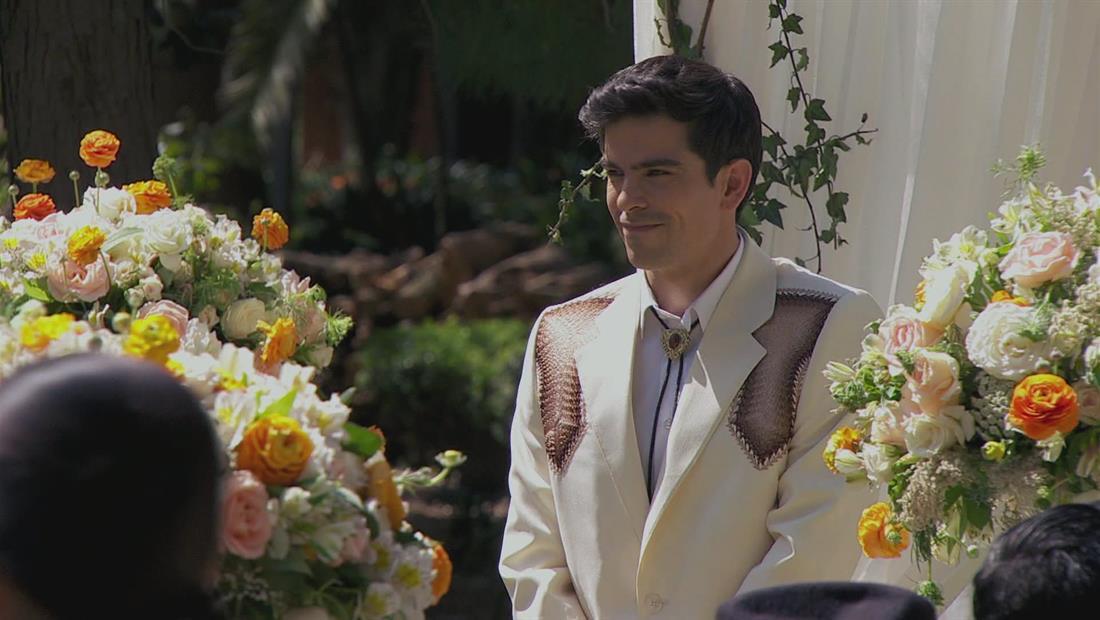 Detrás de cámaras de la boda de Victor Jr e Isabel en El Señor de los Cielos 3 (VIDEO)