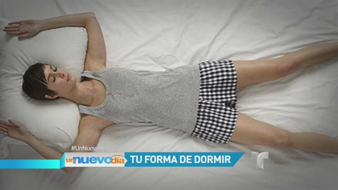 La posición en la que duermes podría determinar aspectos de tu personalidad