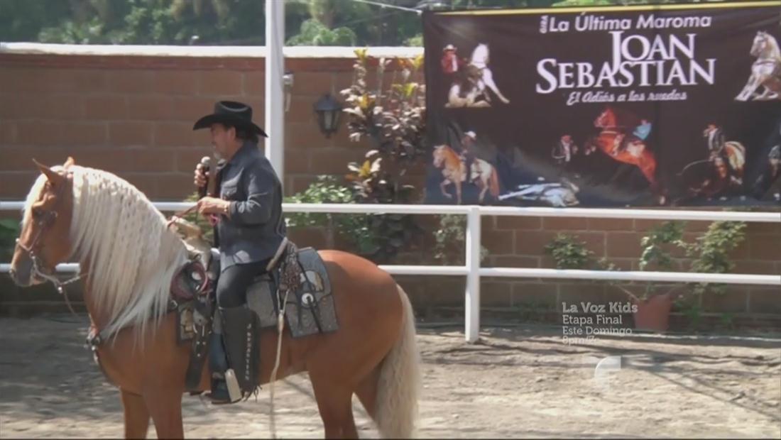 Joan Sebastian podría volver muy pronto a los escenarios (VIDEO)