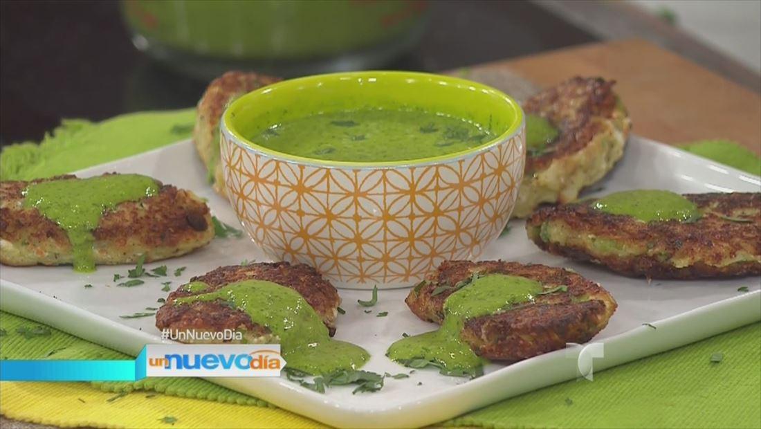 Receta de cocina: tortillas de coliflor hechas por el chef James