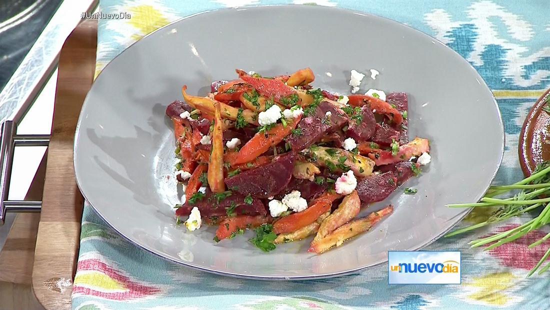 Ensalada de zanahoria y tubérculos